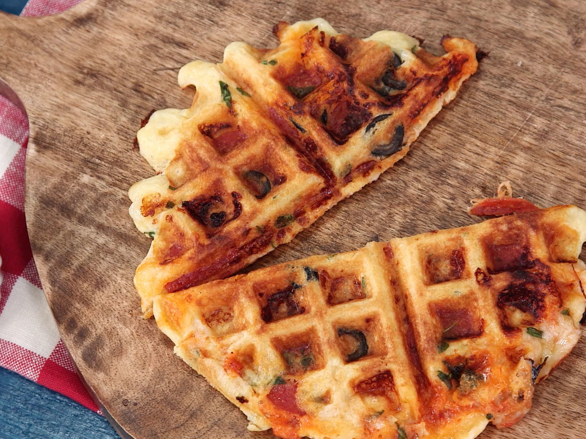 Pizza Waffles Still Image