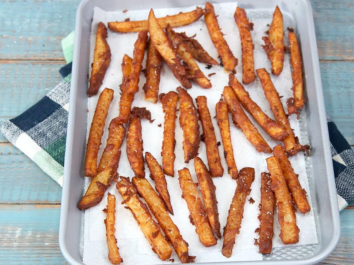 Beer-Battered Fries Image