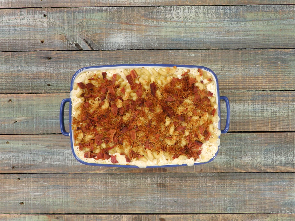 Chipotle Bacon Mac and Cheese Still