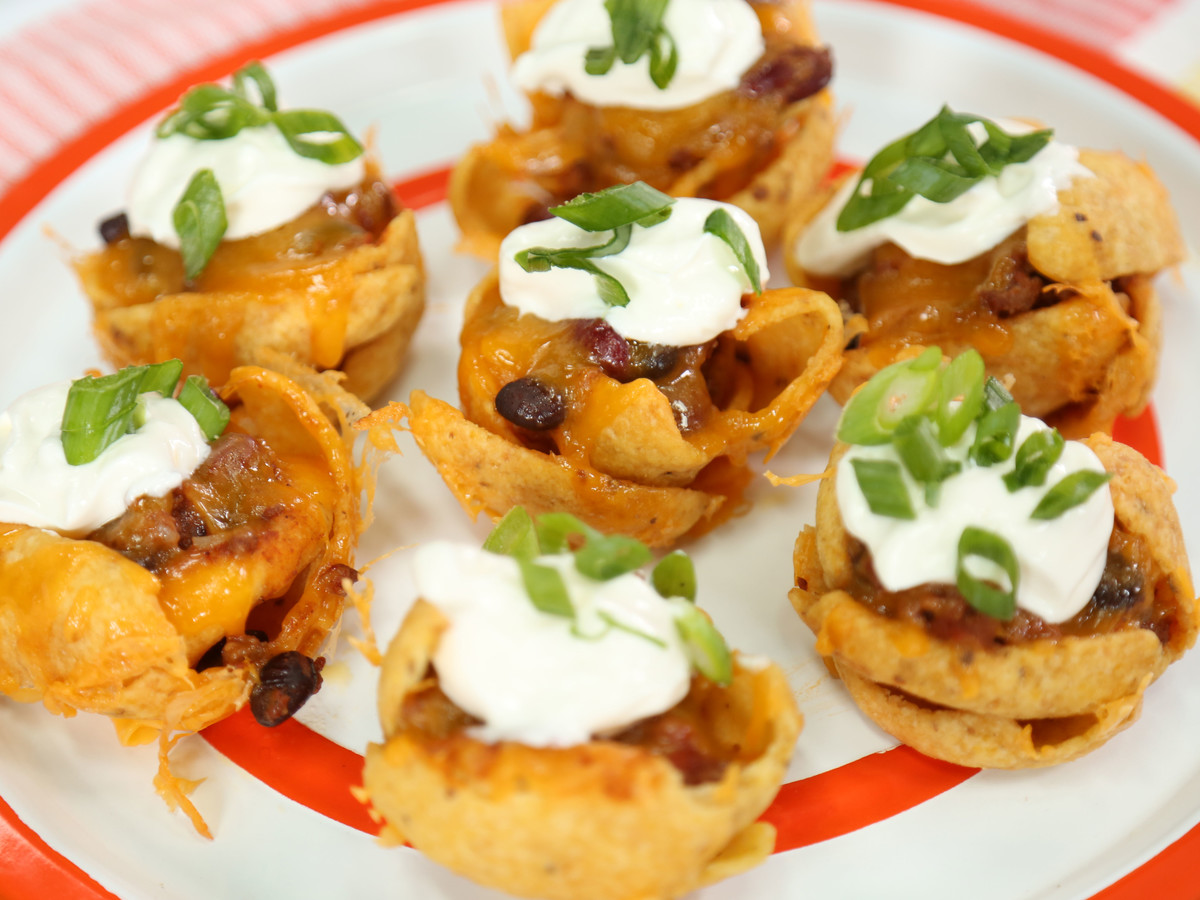 Mini Frito Chili Cheese Bowls