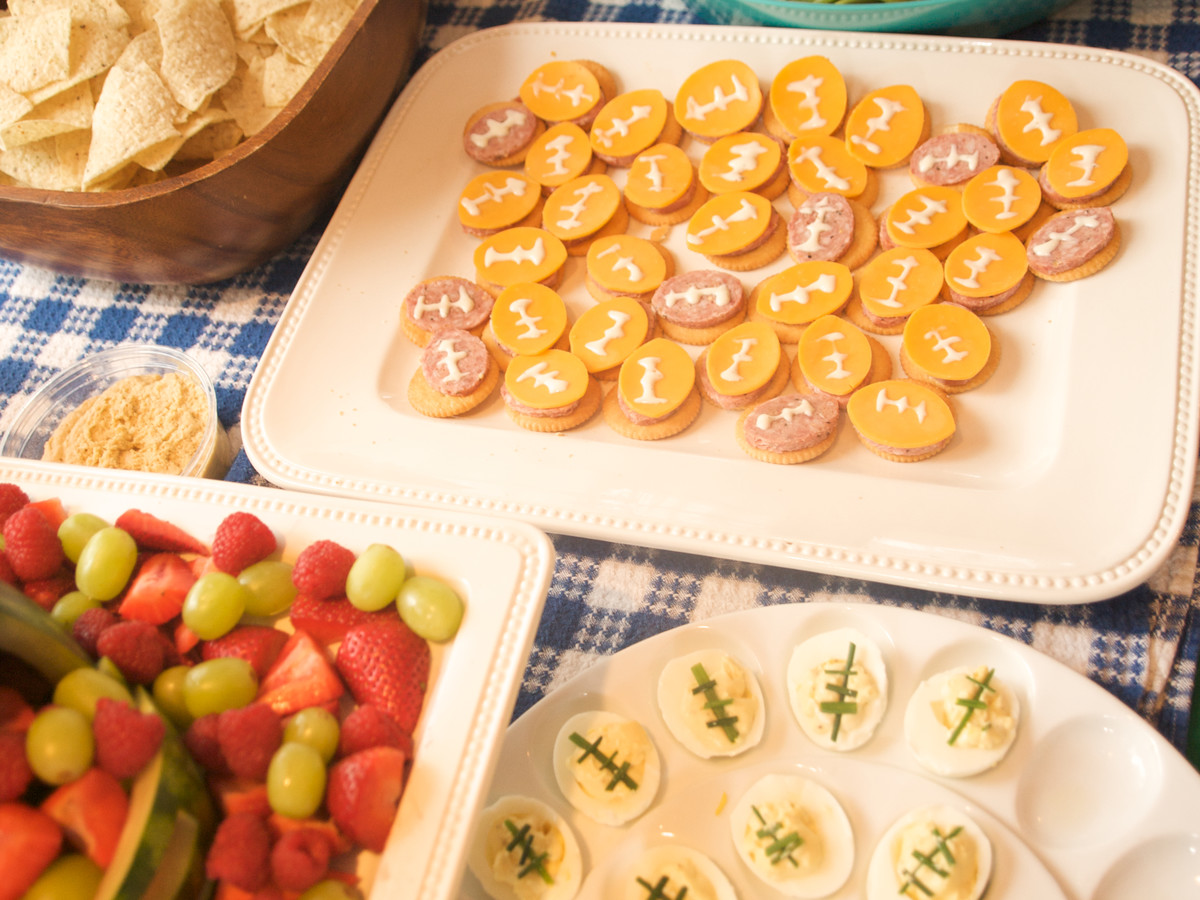 Getty Football Party Foods