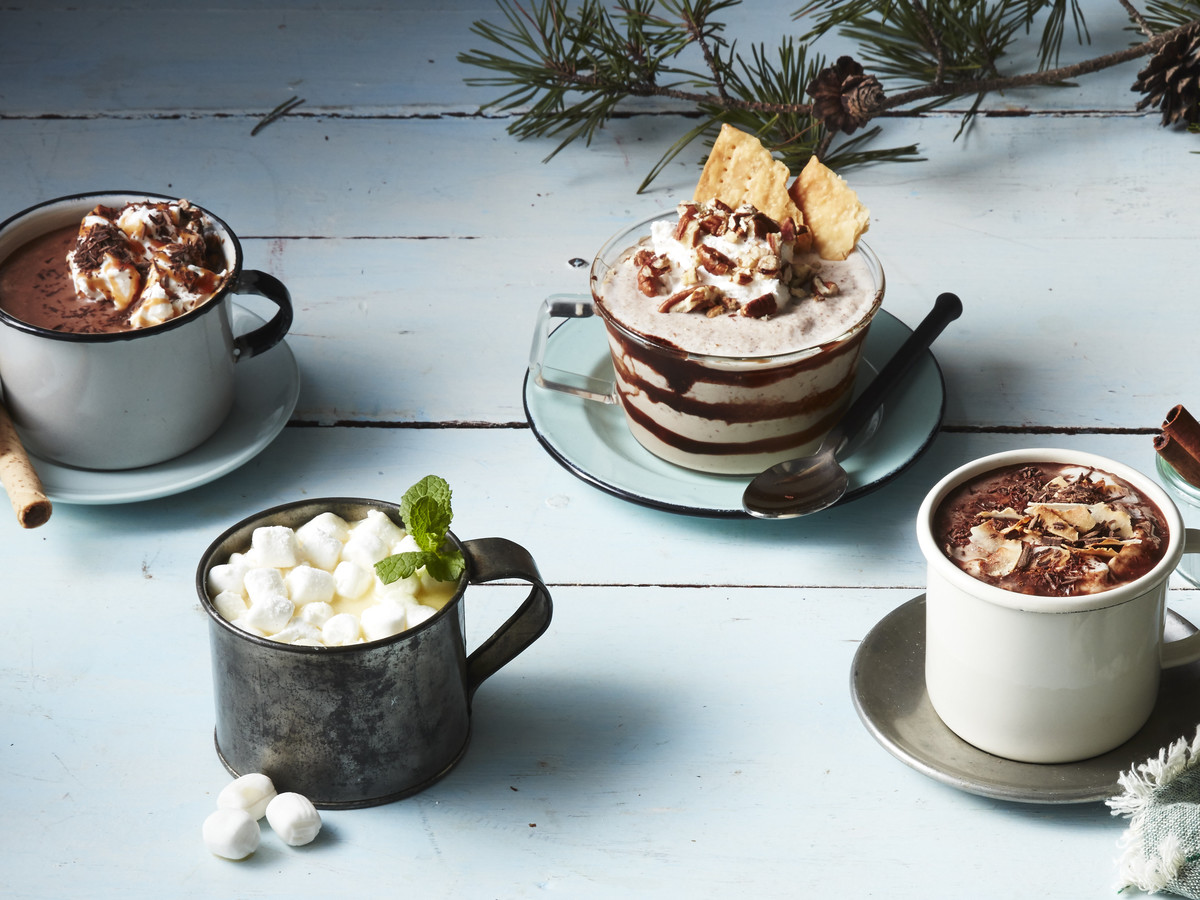 3-D Hot Chocolate