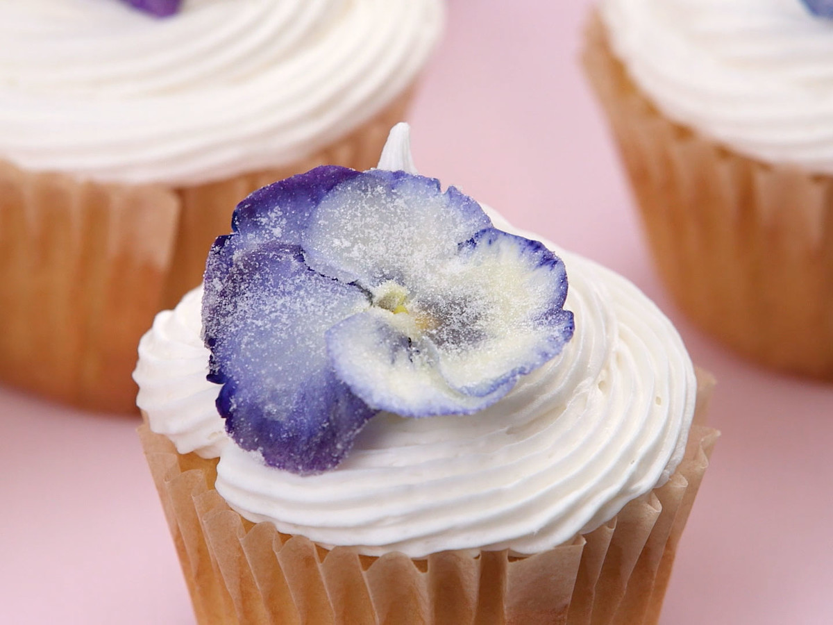 How To Make Sugared Flowers Still