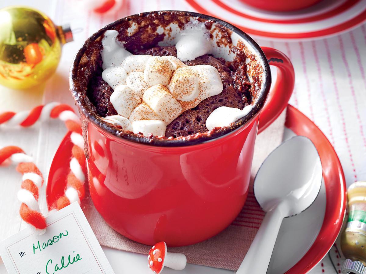 Mexican Hot Chocolate Mug Cake
