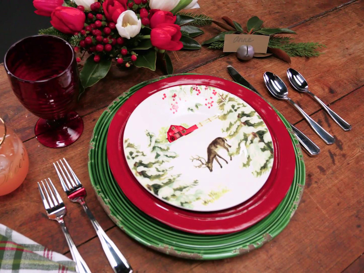 Dillards Holiday Tablescape
