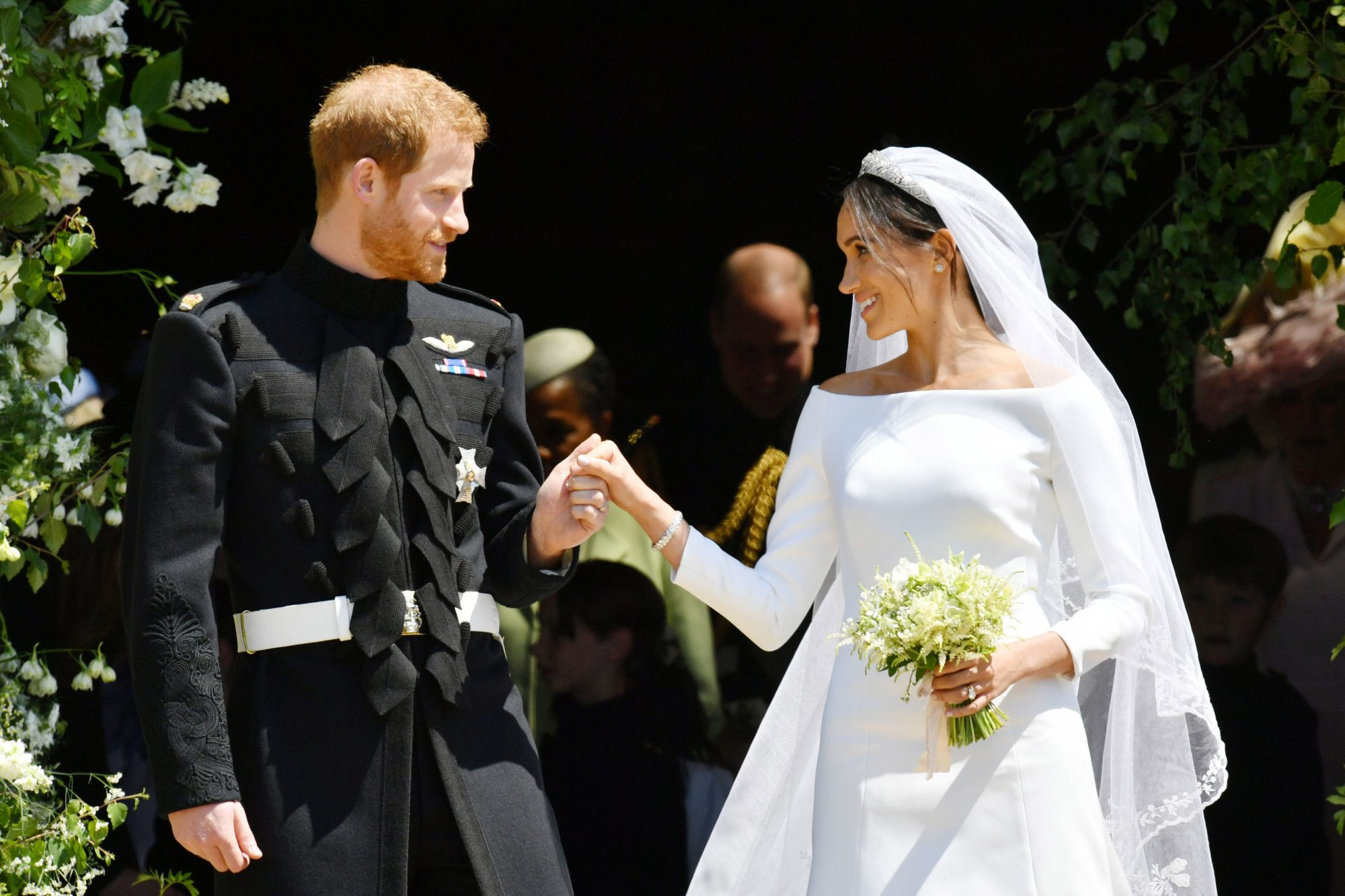 Prince Harry and Meghan Markle Wedding Day