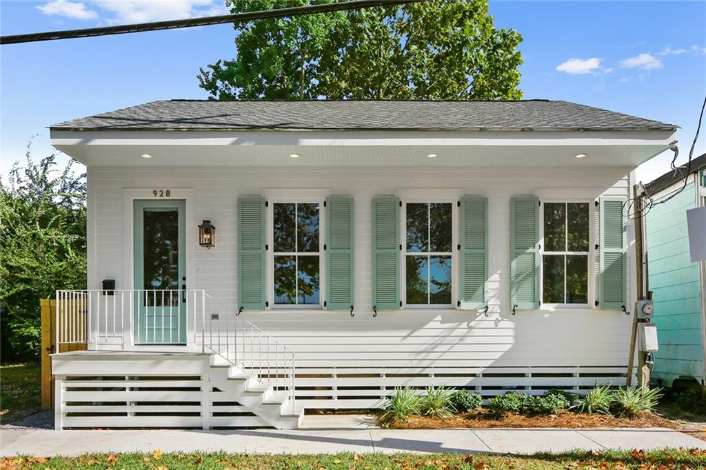 New Orleans Creole Cottage