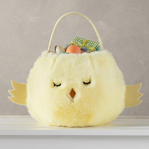 Puffy Chick Easter Basket