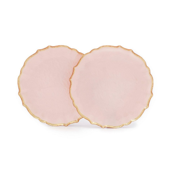 Southern Living Collection Scalloped Tidbit Plates