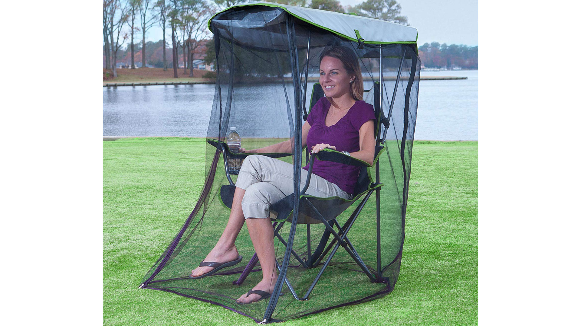 SwimWays Kelsyus Canopy Chair with Bug Guard