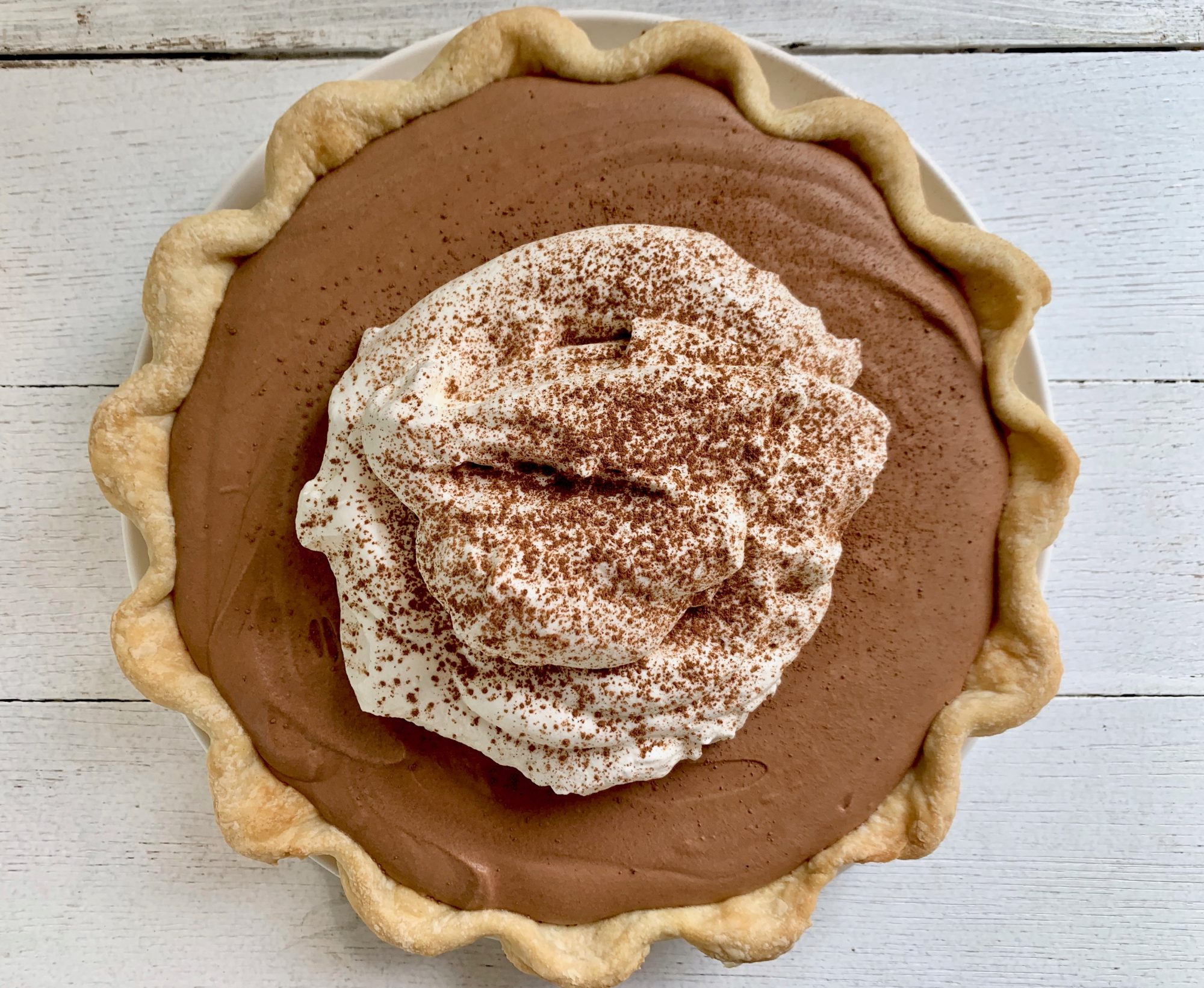 Chocolate Silk Pie