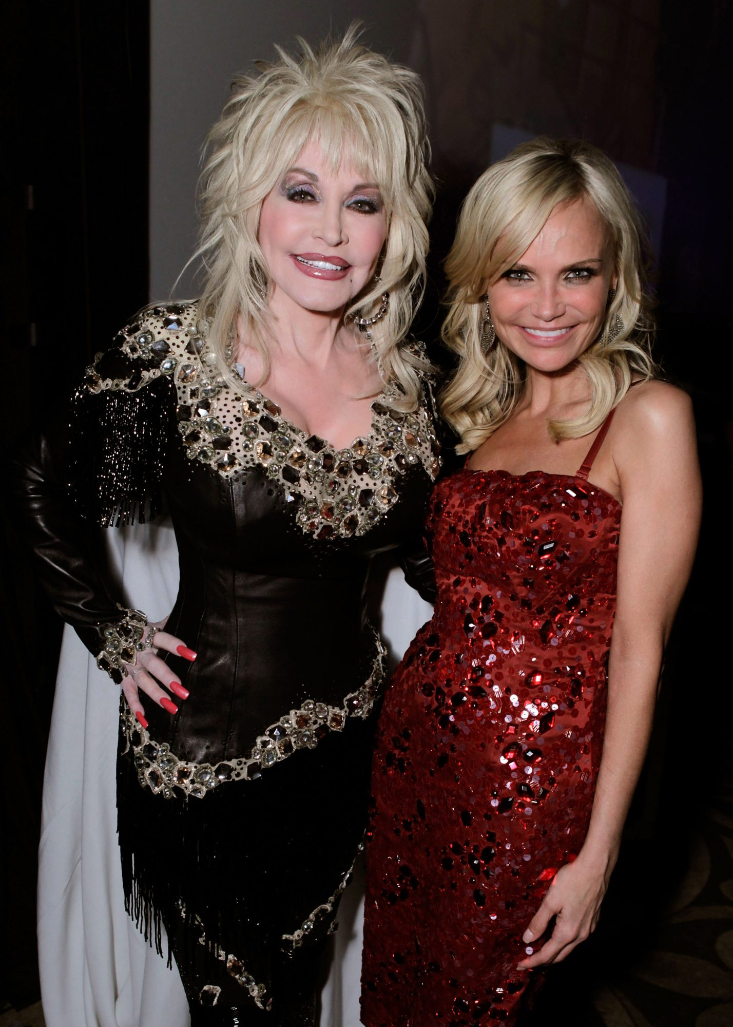 Dolly Parton and Kristin Chenoweth