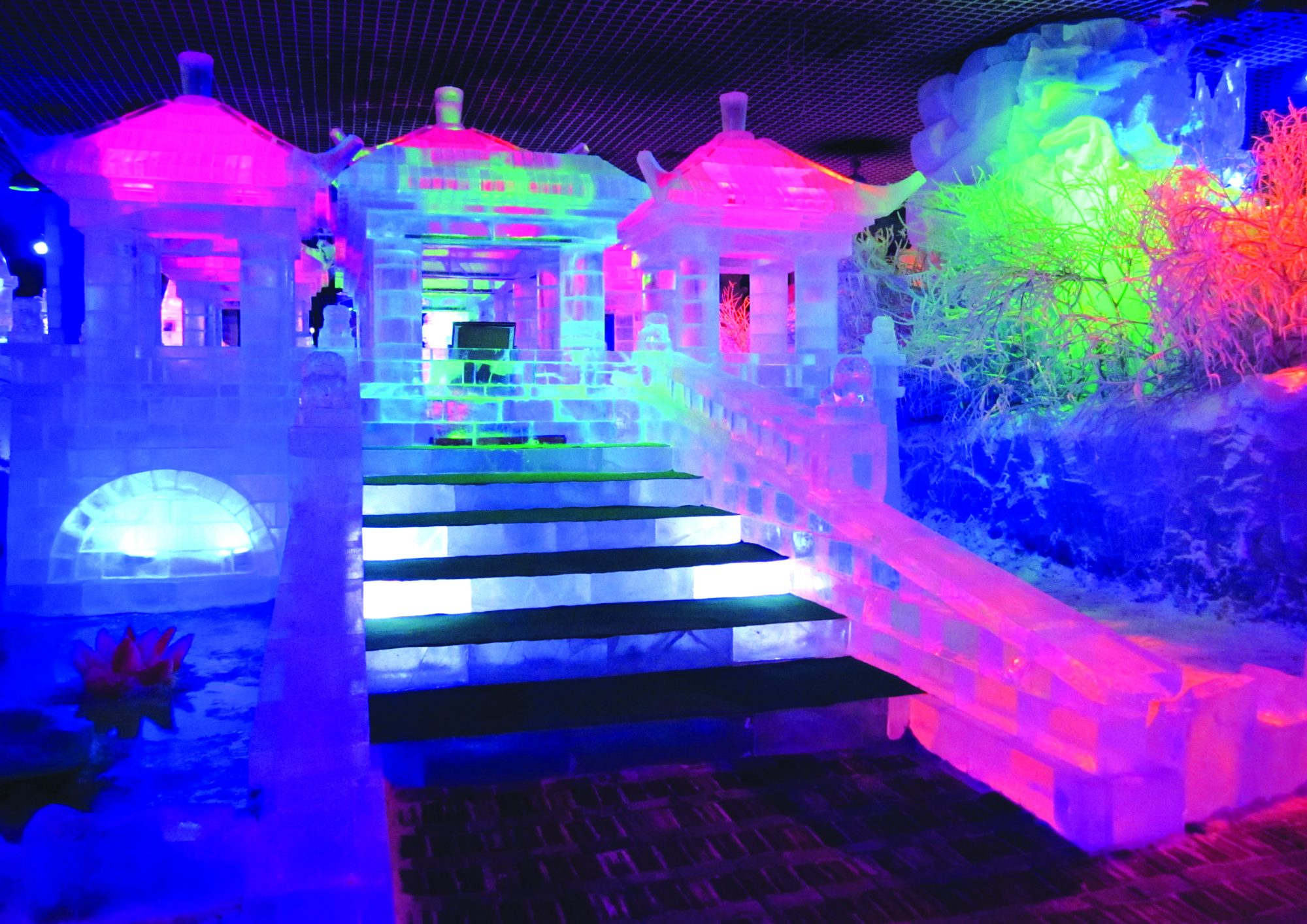 Moody Gardens ICE LAND Ice Sculptures 1