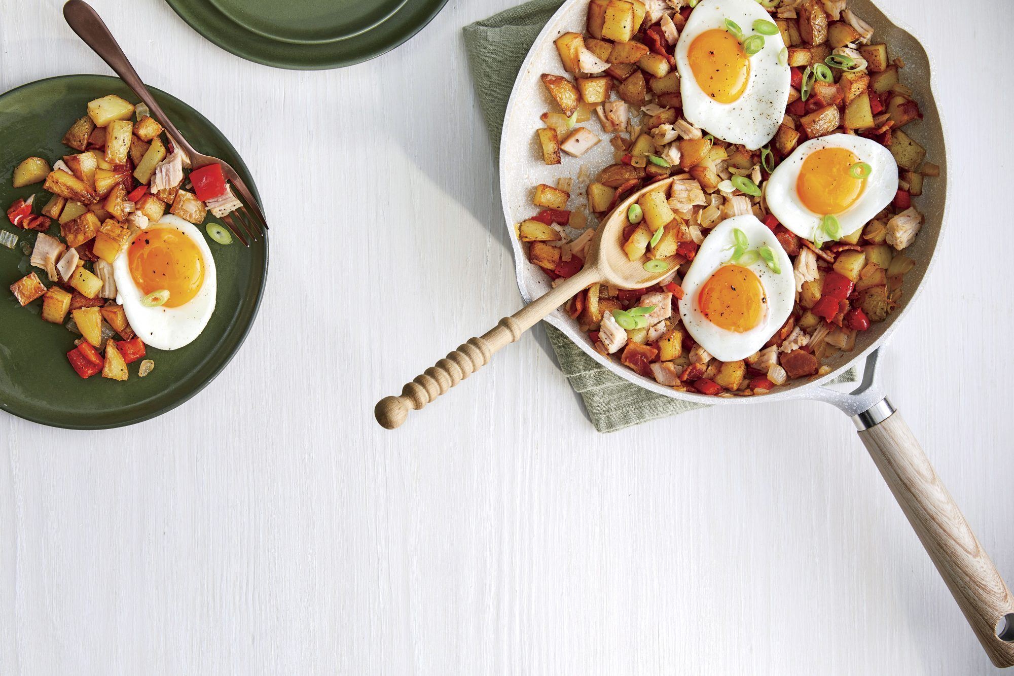 Leftover Turkey Hash