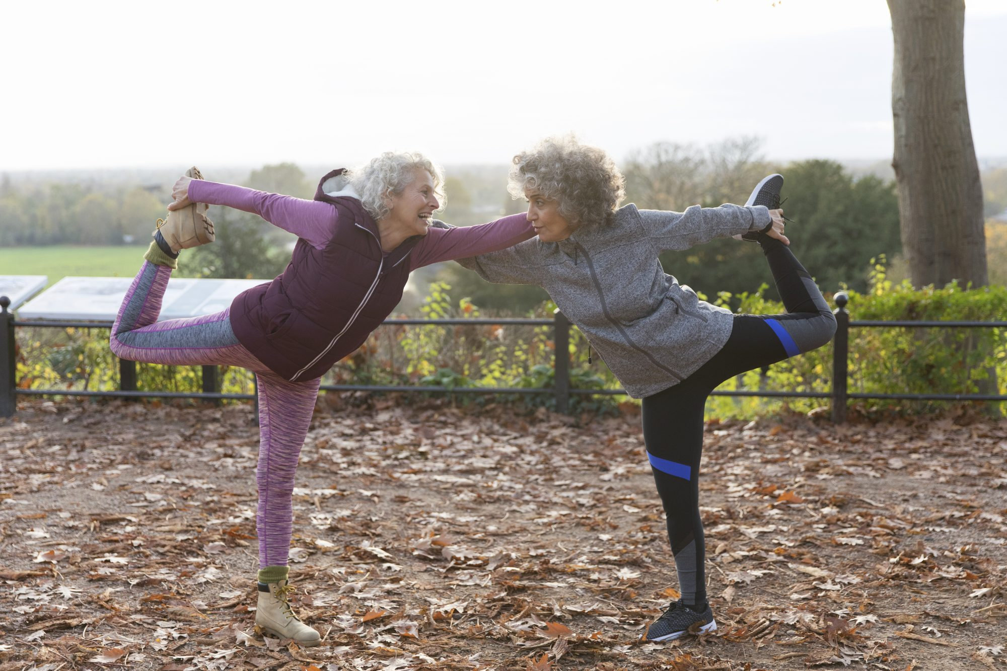 Women Doing Bow Pose