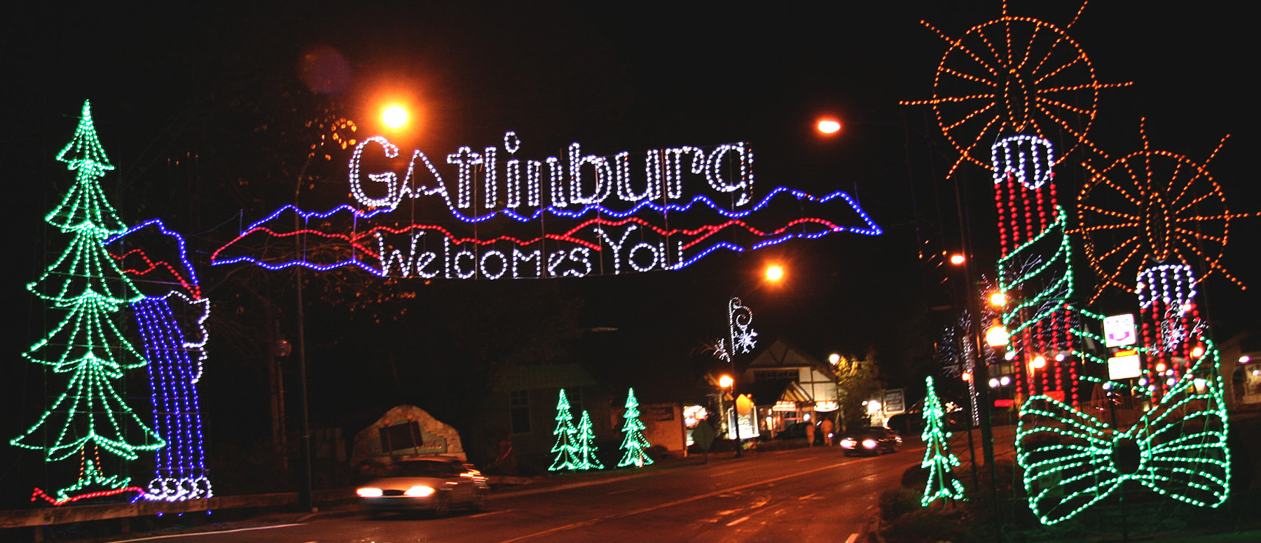 Gatlinburg Winterfest 1