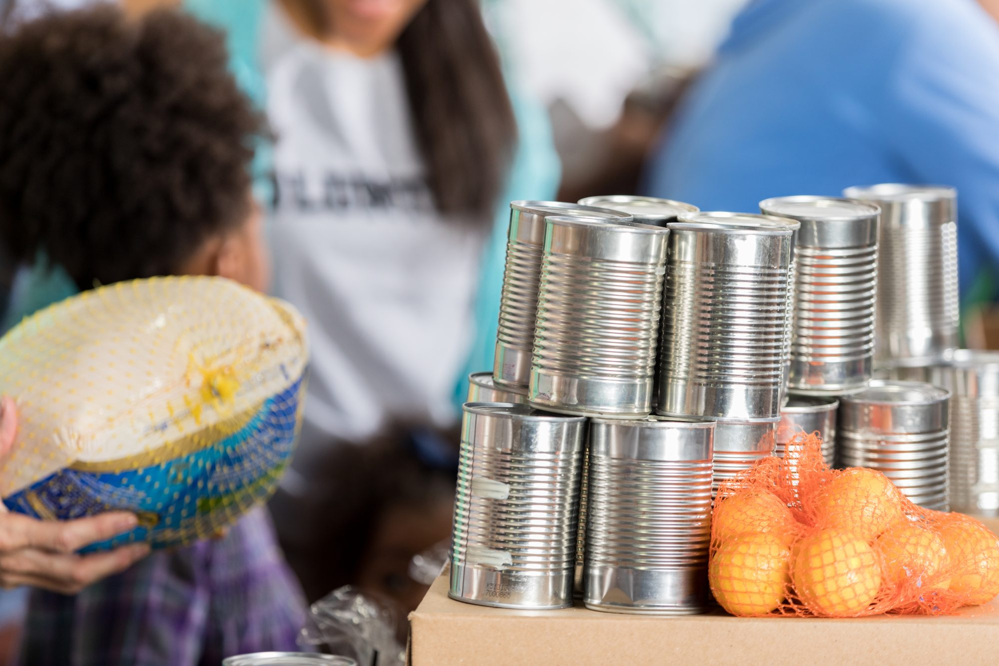 Thanksgiving Food Donations