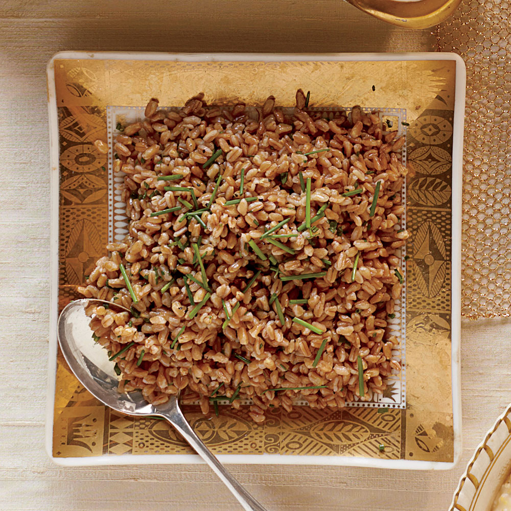 Browned-Butter Farro