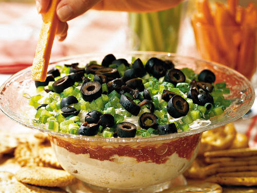 Easy Appetizers : Layered Crabmeat Spread