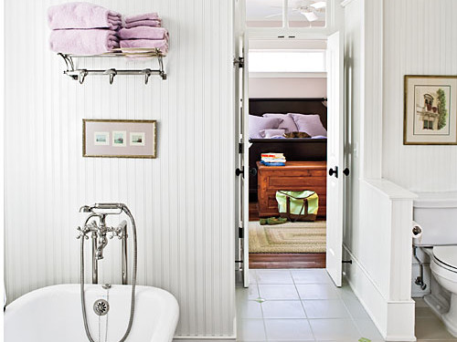 Lilac Master Bathroom