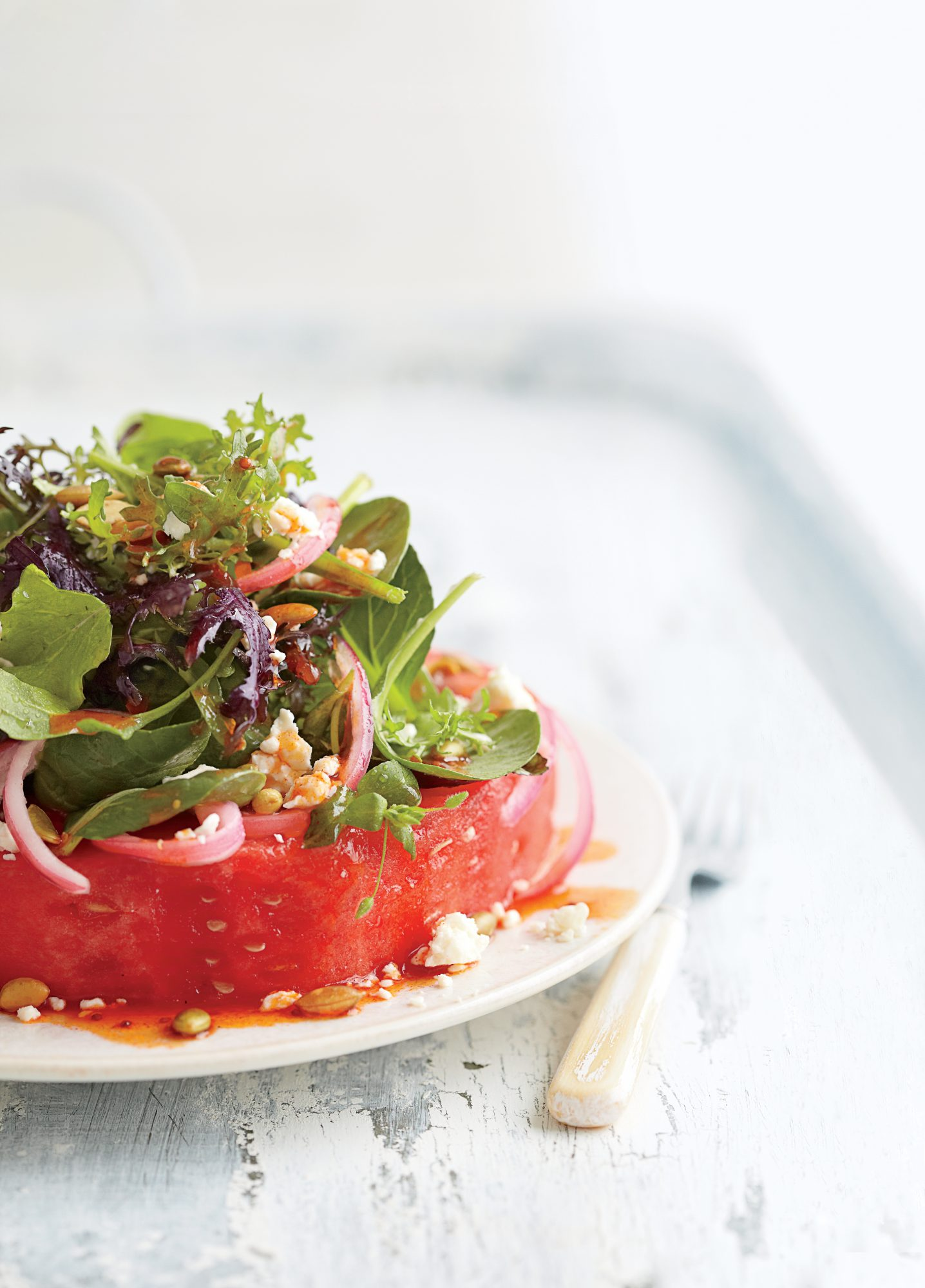 Watermelon  Steak  Salad