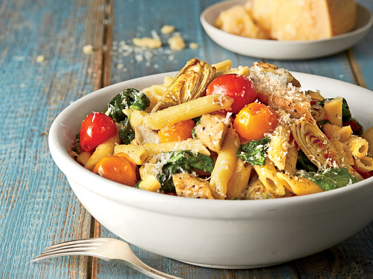 Chicken-and-Artichoke Penne