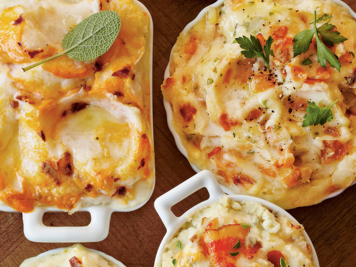 Mashed Potato Bakes