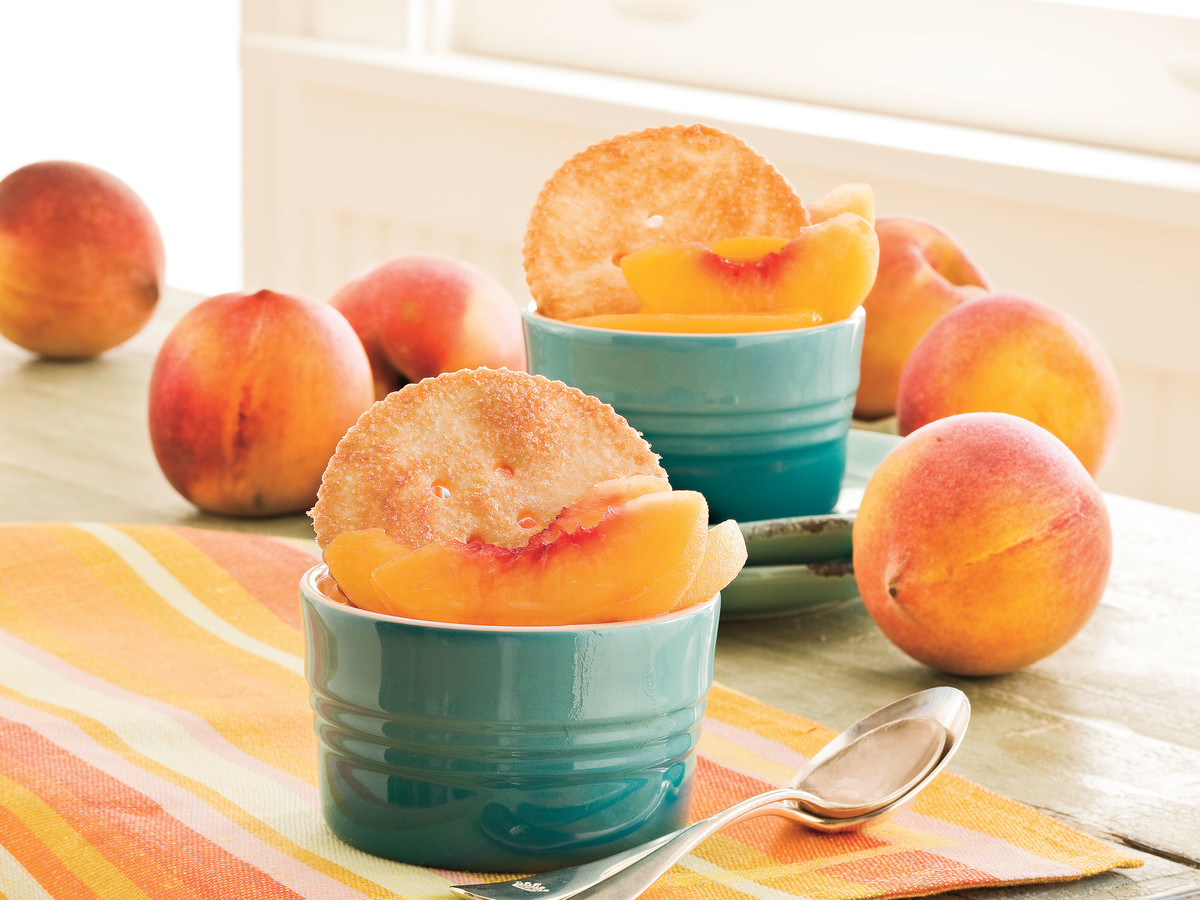 Southern Living Recipe: So-Easy Peach Cobbler