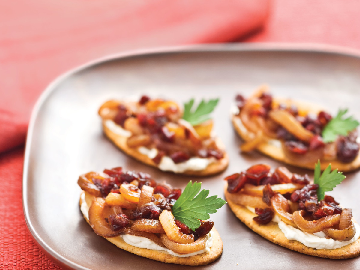 Caramelized Onion-Cranberry Compote