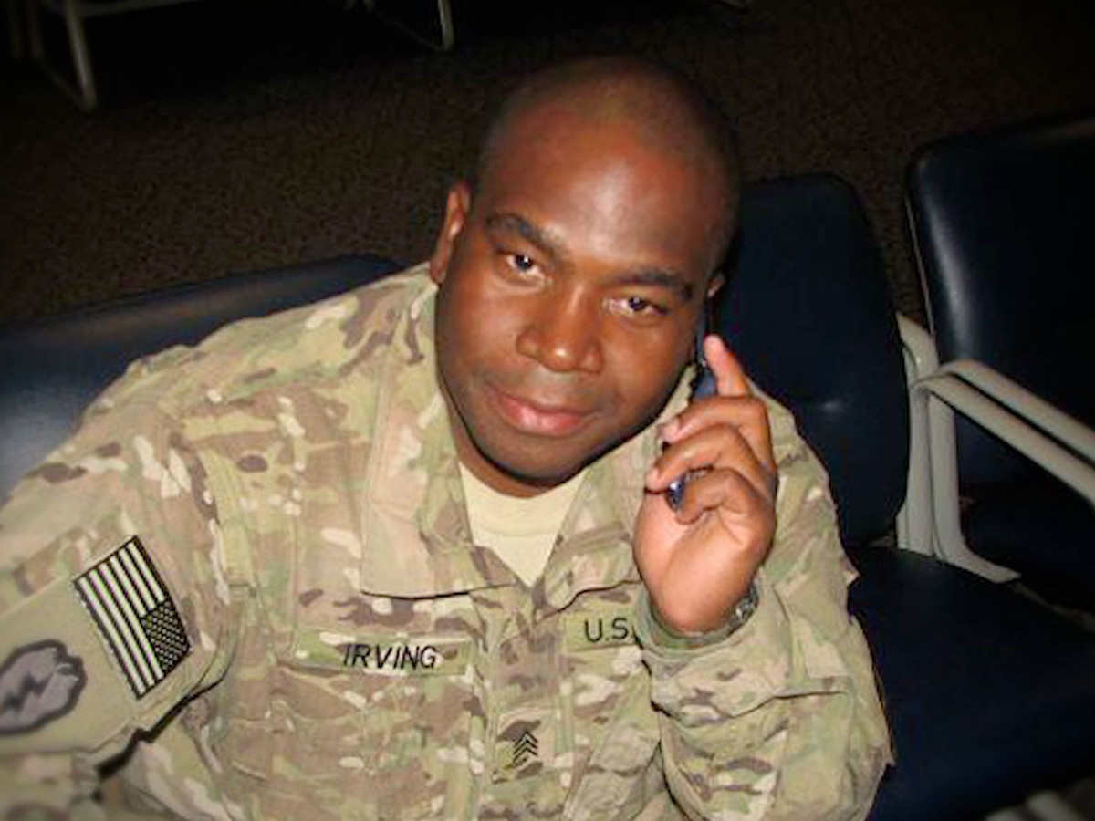 Sgt. Jackie Irving