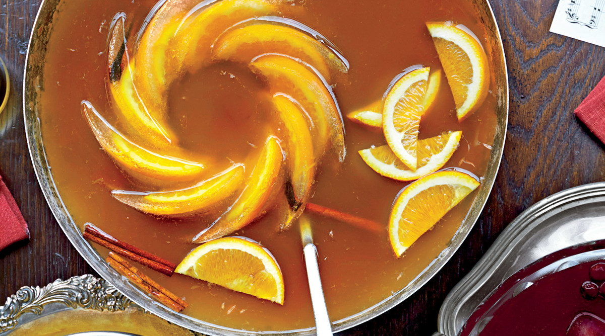 Sorghum-Cider Punch