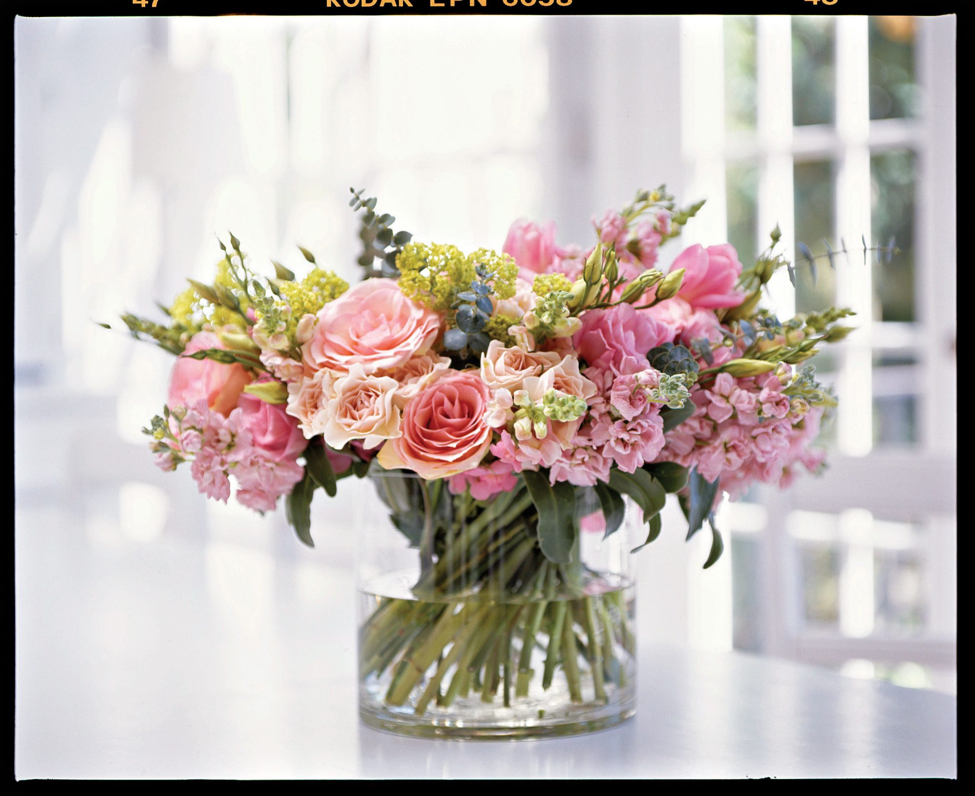How to Make a Bouquet: Spiral-Stemmed Posy