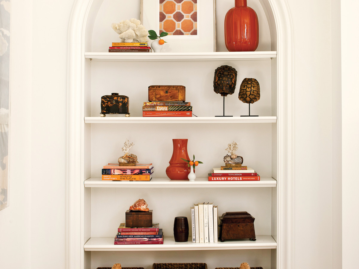 How to Style Open Shelves