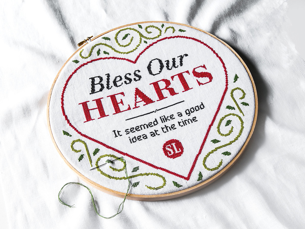 Bless Our Hearts: Celebrating our Mistakes