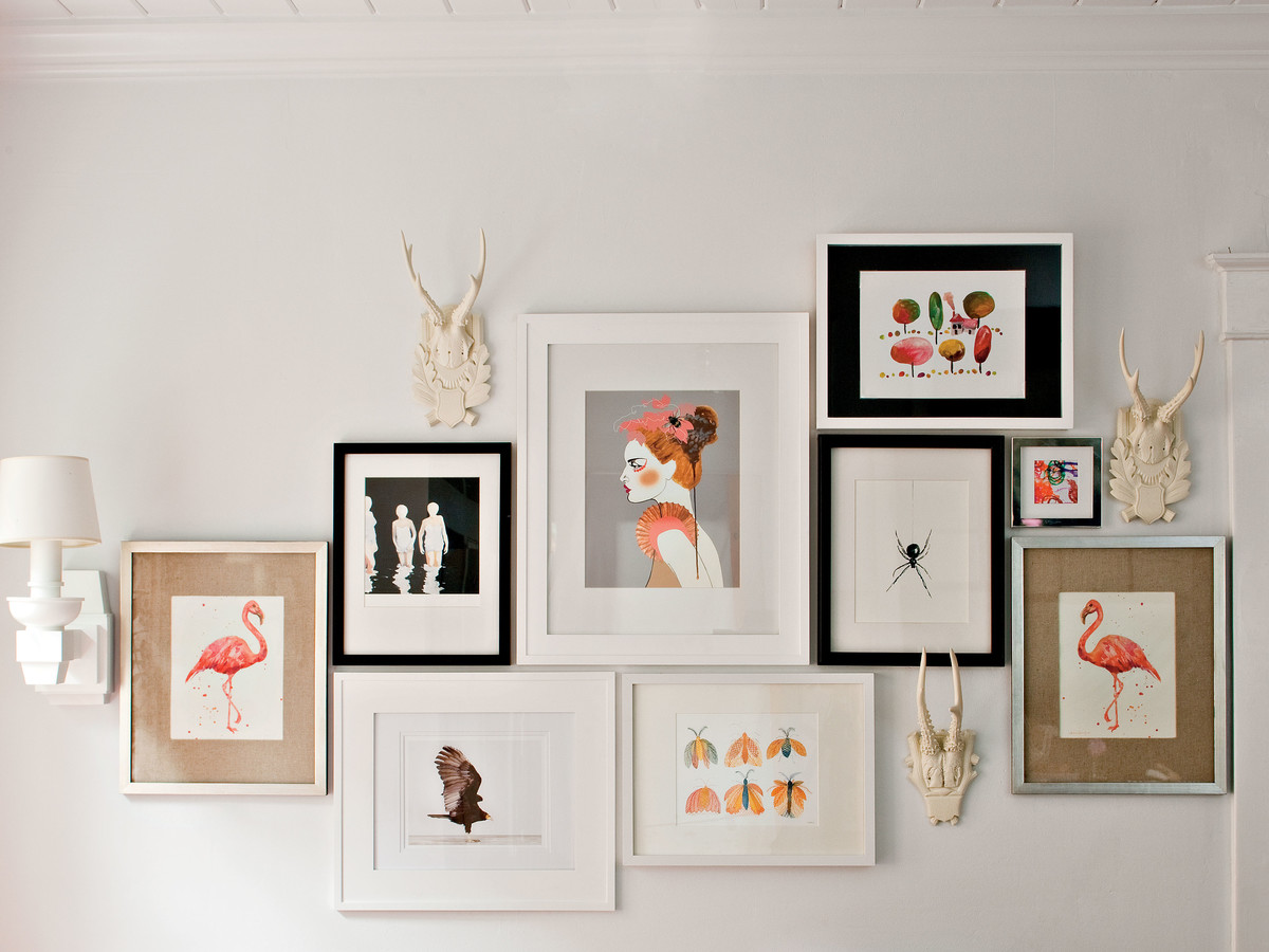Budget Decorating Ideas: Create a Gallery Wall with Art