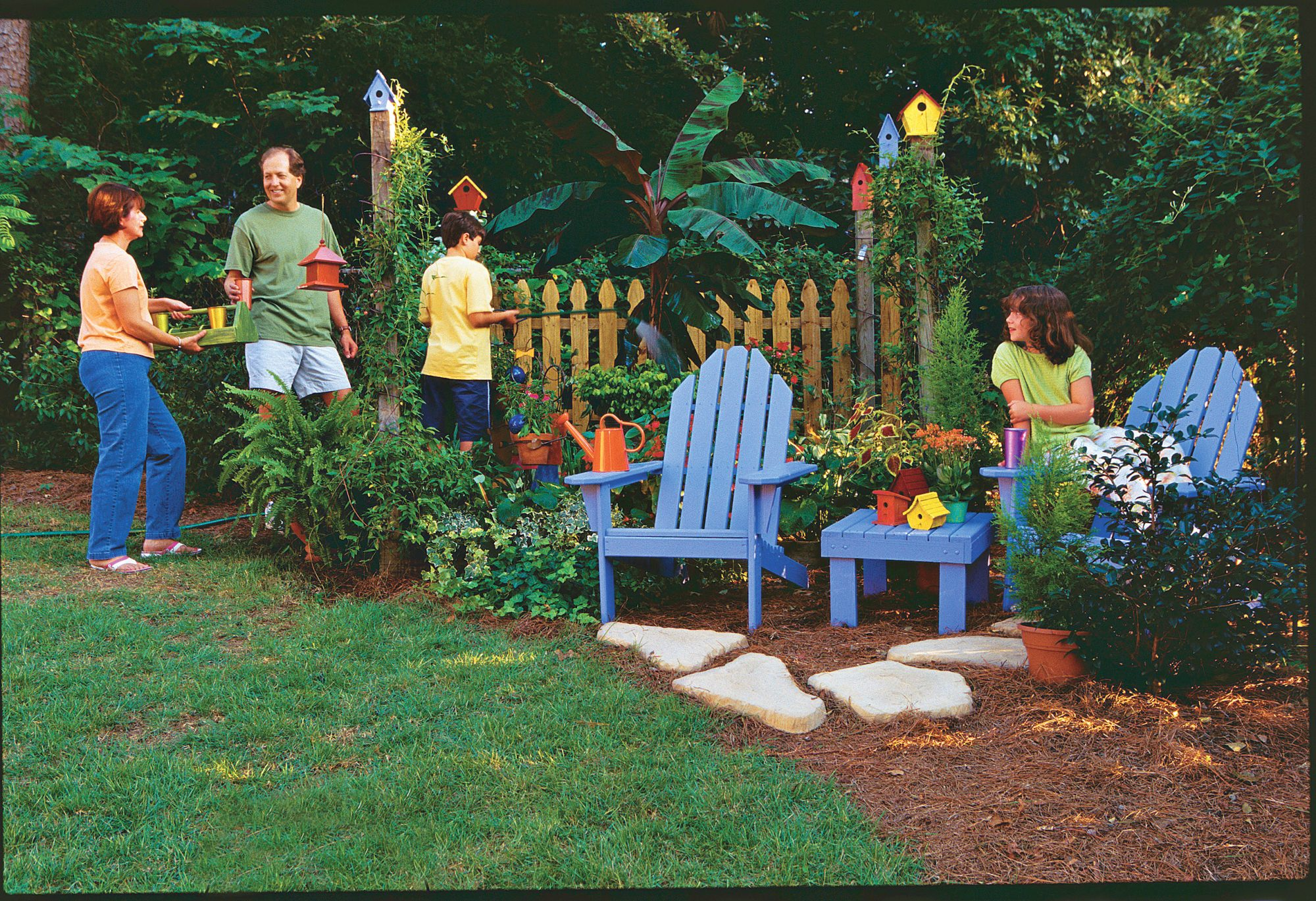 Family Project: A Weekend Garden Makeover