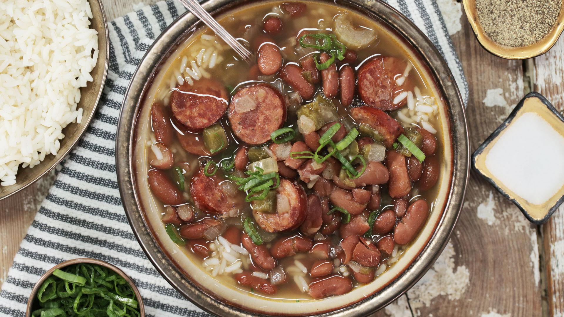 New Orleans Red Beans And Rice Image