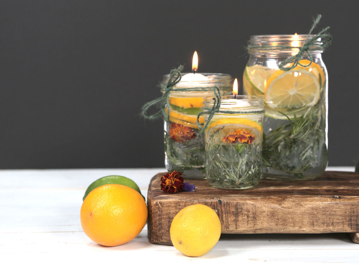 Summer Citronella Candles Image