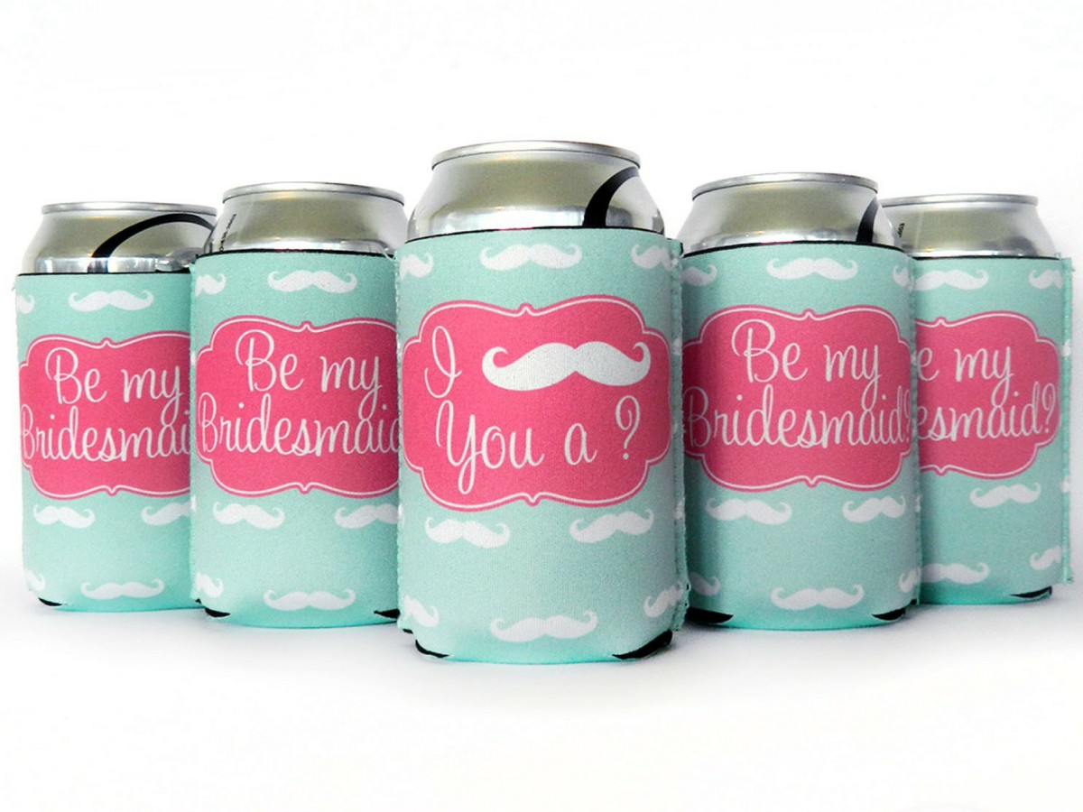 Bridesmaids Proposal Koozies