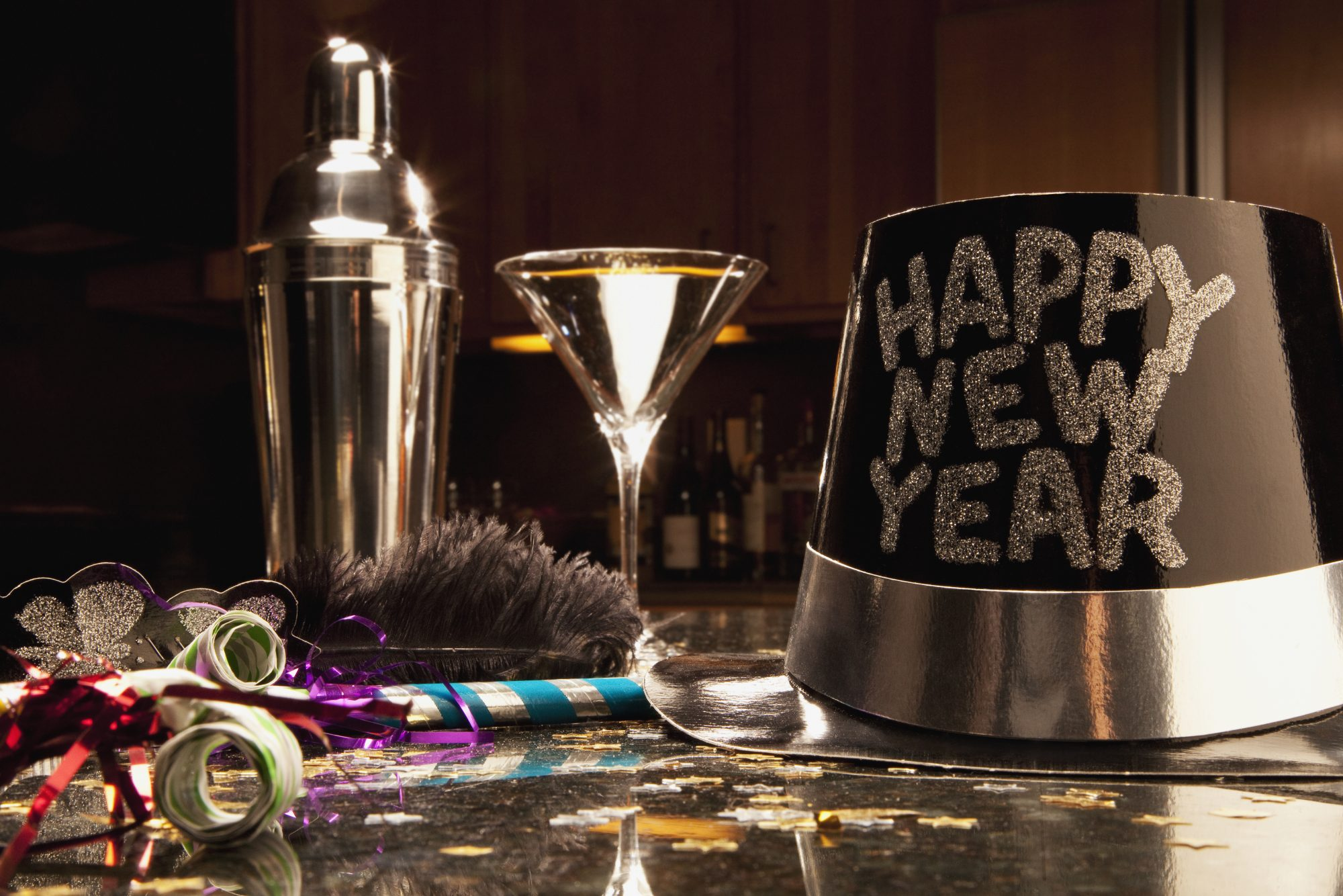 New Year's Eve Party Set-up