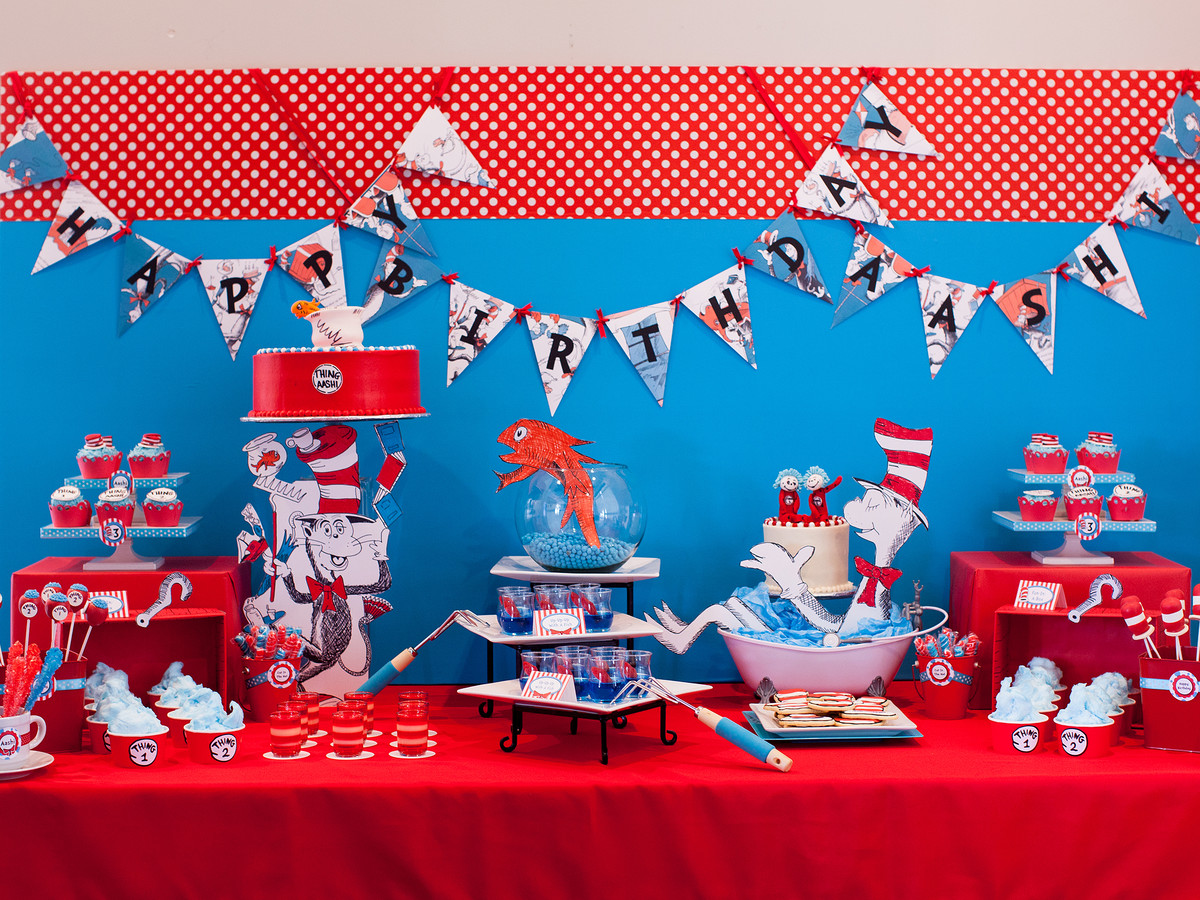 Creative Kids' Birthday Party Cat in the Hat 1