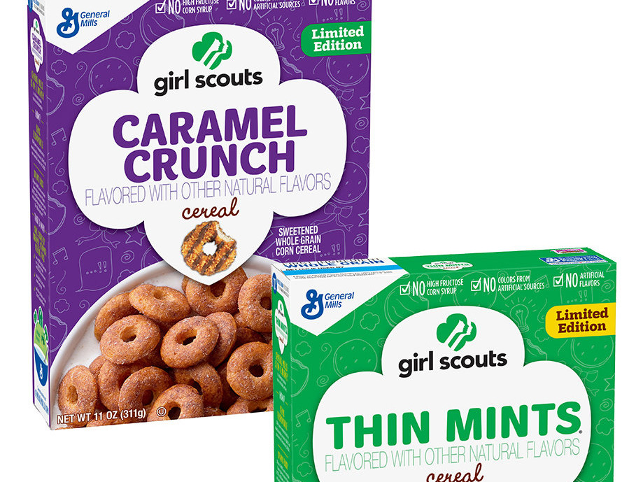 Girl Scout Cookie Cereal
