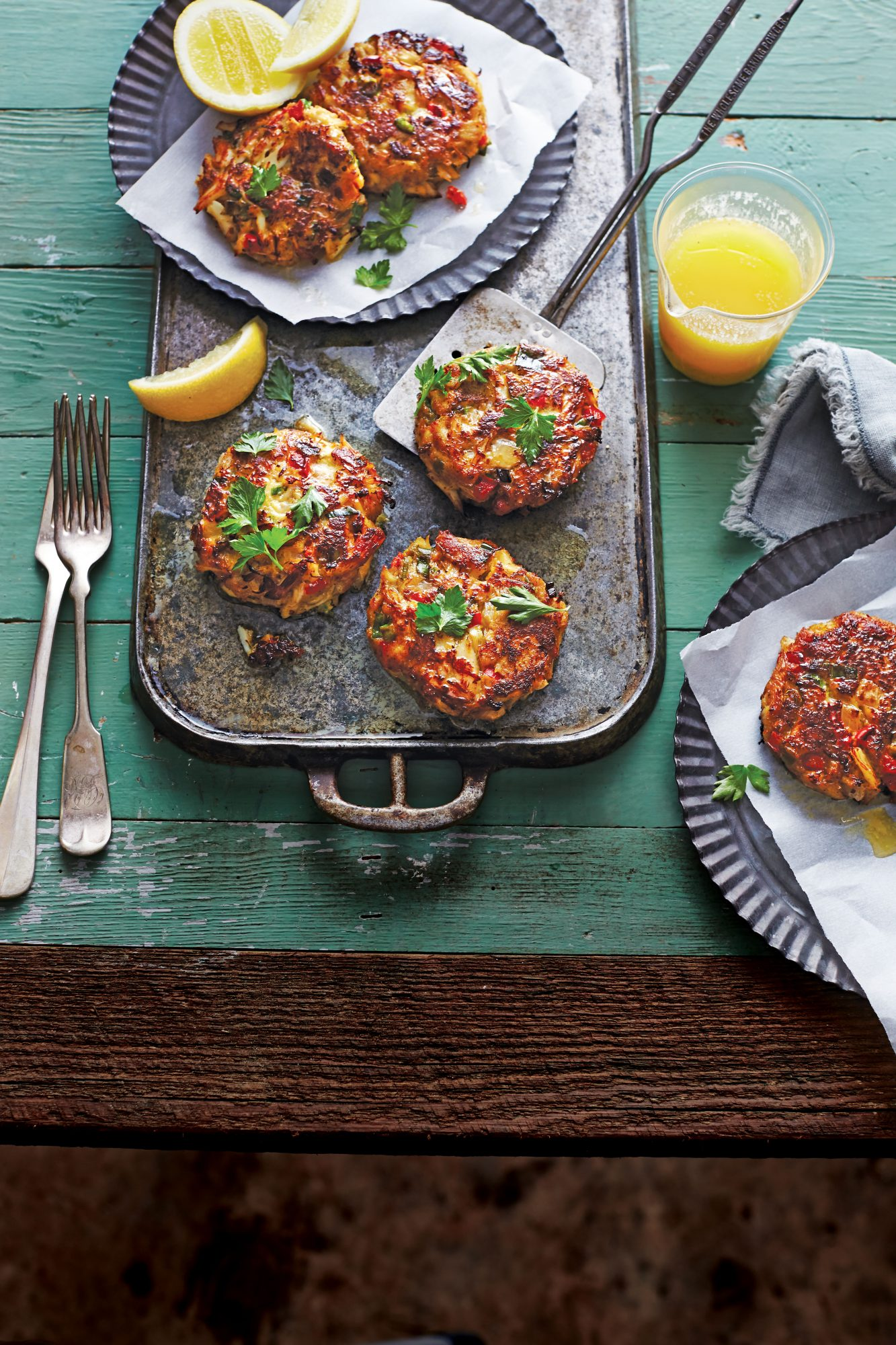 Gulf Crab Cakes with Lemon Butter