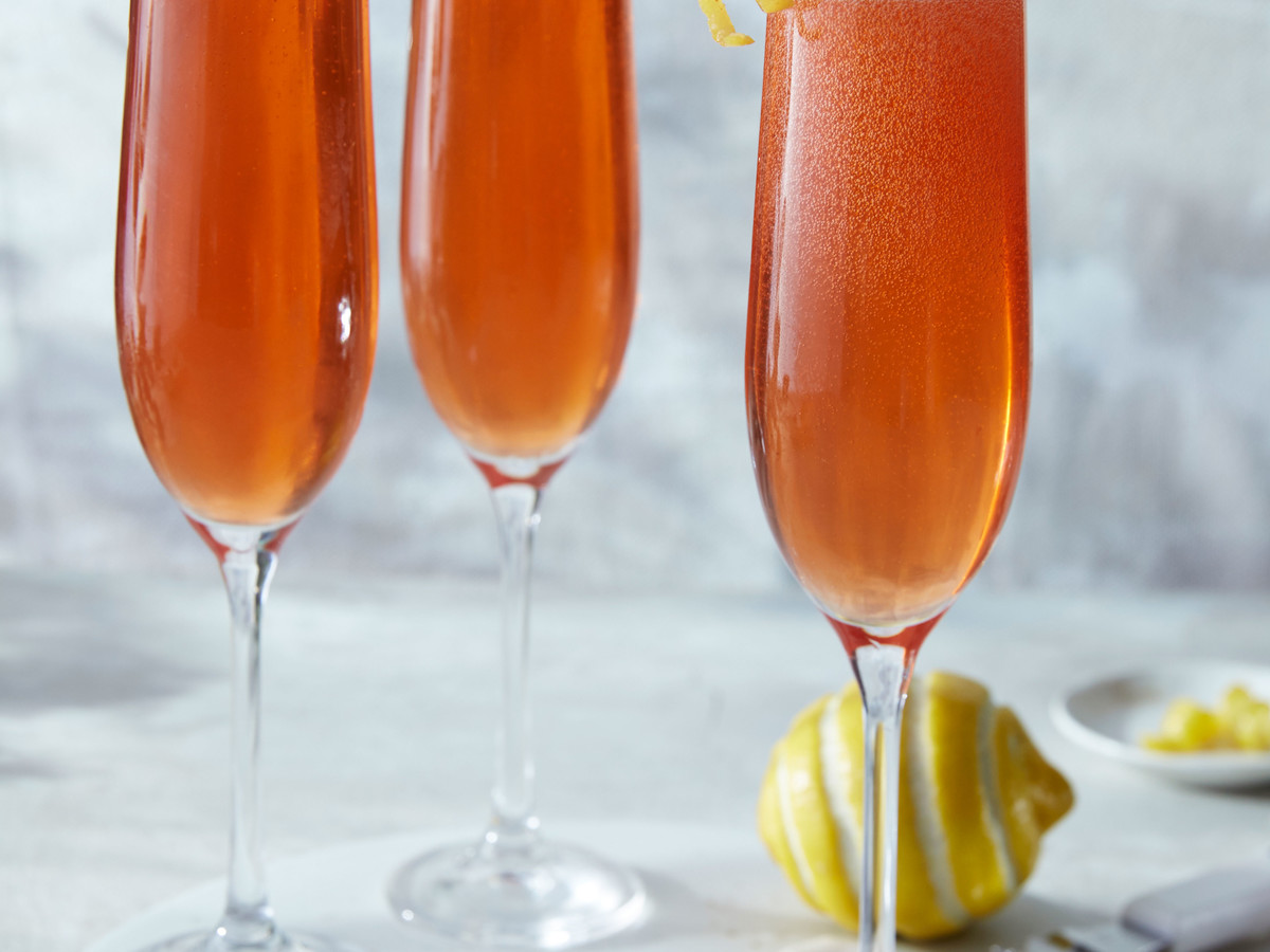 Gingered Seelbach Cocktail