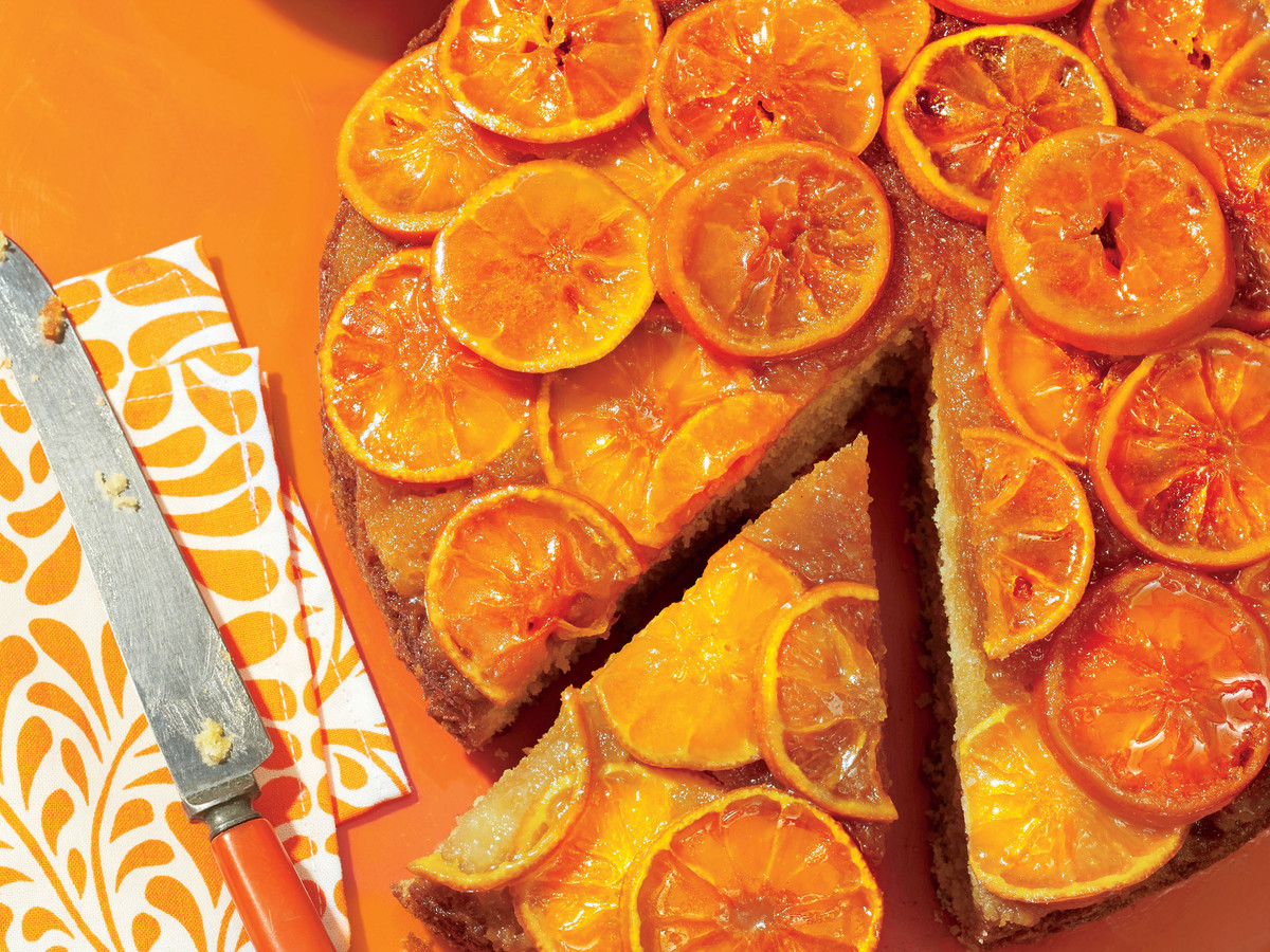 Clementine Upside-Down Cake