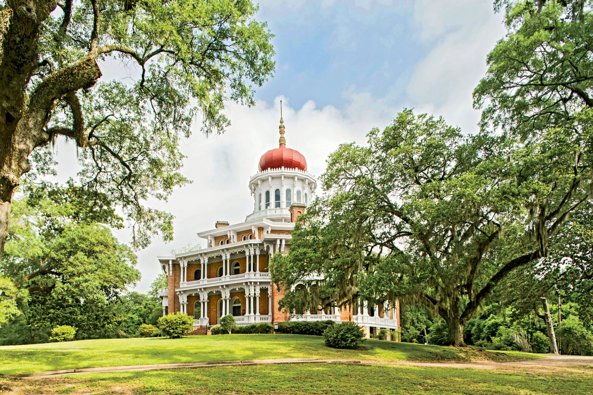 Longwood Mansion in Natchez, Mississippi