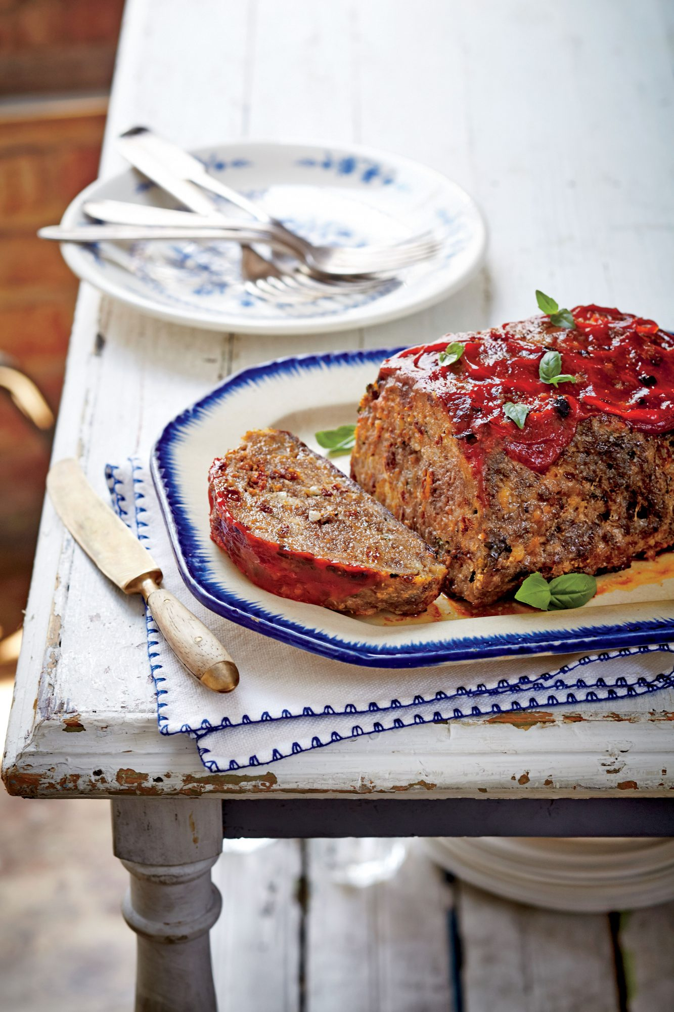 Sun-Dried Tomato-Basil Meatloaf