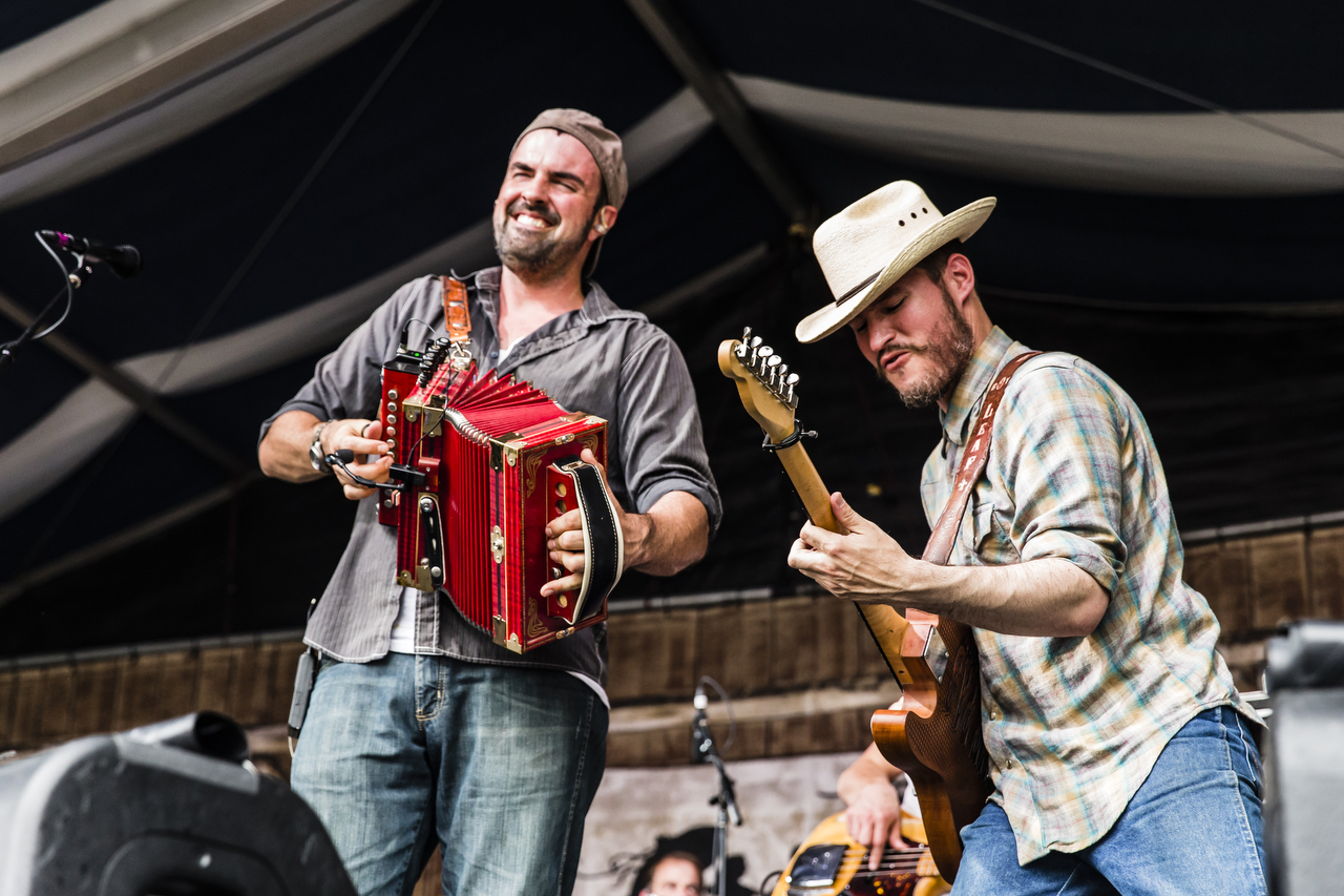 Jazz Fest Zydeco Musicians