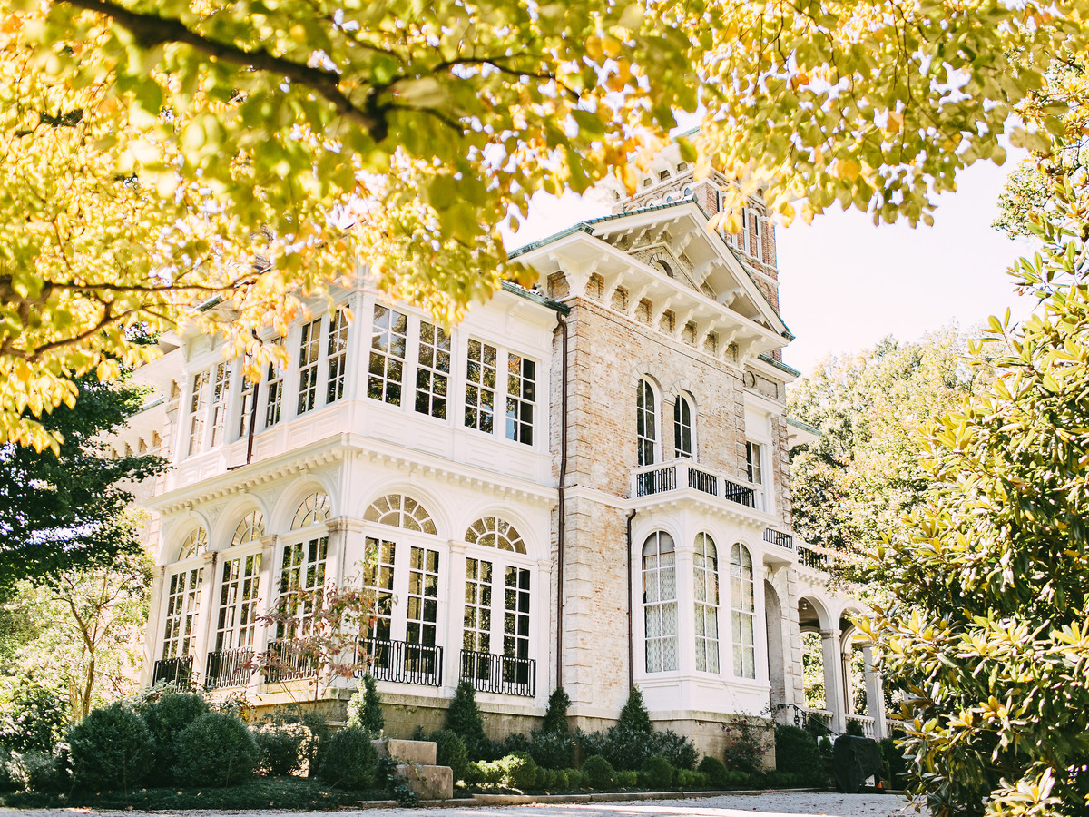 Annesdale Mansion Wedding Venue Memphis Tennessee