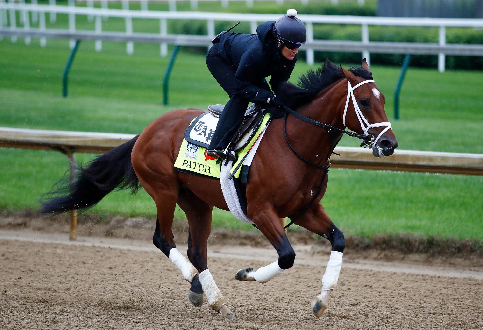 Patch Competing in Kentucky Derby